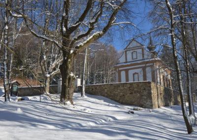 Poutní kaple Panny Marie Bolestné v Horní Plané