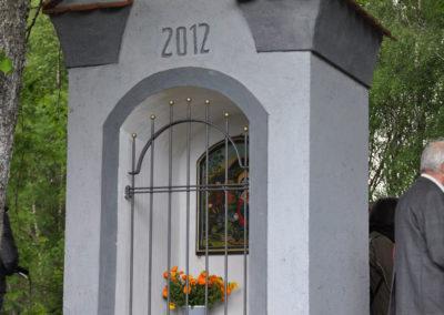 Jedna z mnoha obnovených kapliček