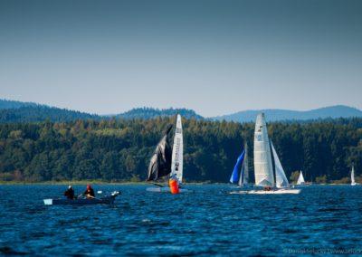 Jachting a rybaření na Lipně