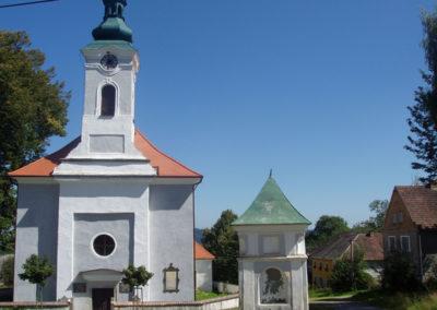 Kostel Nejsvětější trojice v Hodňově